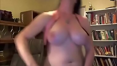 Chubby transsexual with a big cock ( I'_d hit that!! )