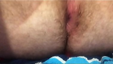 "Gaping my tight asshole with my 9""_ veiny dildo"