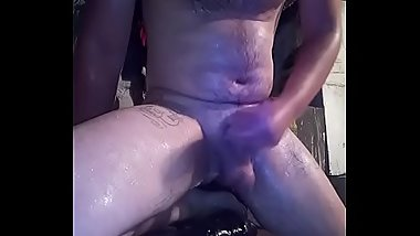 cumshot after hard anal and fresh sperm in the mouth