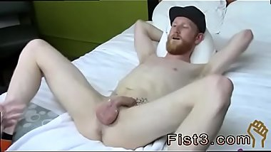 Young gay male couple fisting xxx Fisting the rookie , Caleb