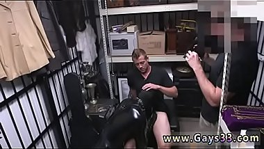 Straight gay man gets hard during physical xxx Dungeon tormentor with