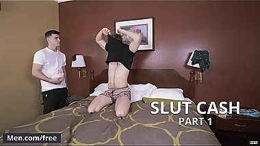 Jacob Peterson and Noah Jones - Slut Cash Part 1 - Drill My Hole - Trailer preview - Men.com