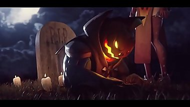 Witch Mercy Fucked by Pumpkin Reaper by Yeero