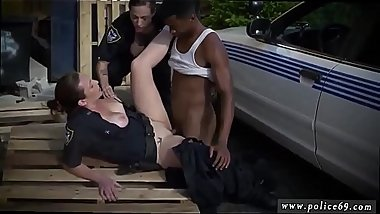 Brunette police woman and crazy milf first porn I will catch any perp