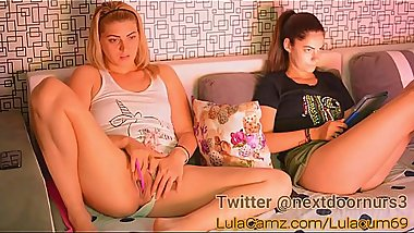Blonde girl chaturbate lulacum69 27-06-2018