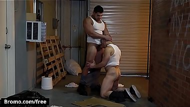 Damien Stone with Jeremy Spreadums at Whore Alley Part 3 Scene 1 - Trailer preview - Bromo
