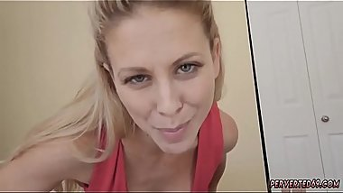 Neighbors mom car and double footjob Cherie Deville in Impregnated By