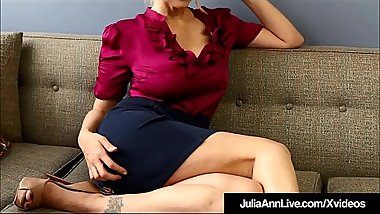 Dirty Talkin Milf Teacher Ms. Julia Ann Teaches Masturbation