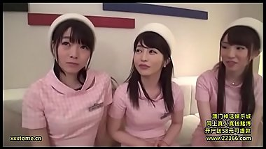 3 Japanese sluts vs 1 cock compilation JAV MV