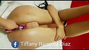 Tiffany Ramirez Diaz cachando