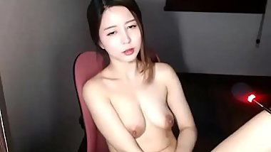 Asian cute redhead masturbates - check link for more