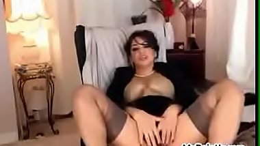 Webcam girl does naughty on her private cam at MyPointIn.xyz