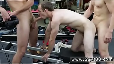 Gay sex boys free online xxx Fitness trainer gets rectal banged