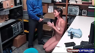 MILF Mom Enjoys Security Guard Verbal Abuse