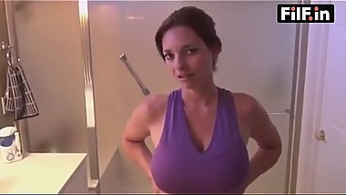 mom and son in the bathroom - FREE Family Sex Videos at FilF.in