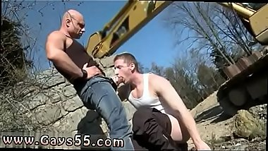 Male naked outdoor gay Men At Anal Work!