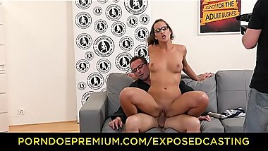 EXPOSED CASTING - Czech beauty Naomi Bennet gets banged in hot audition